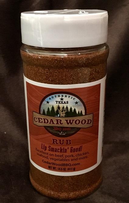CedarWood BBQ Rub